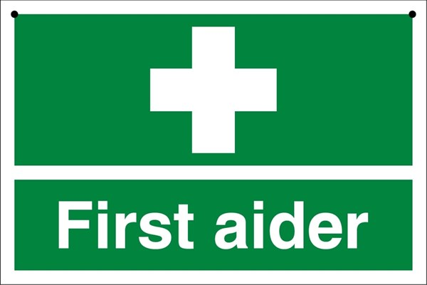 First Aid Course - £97 per person