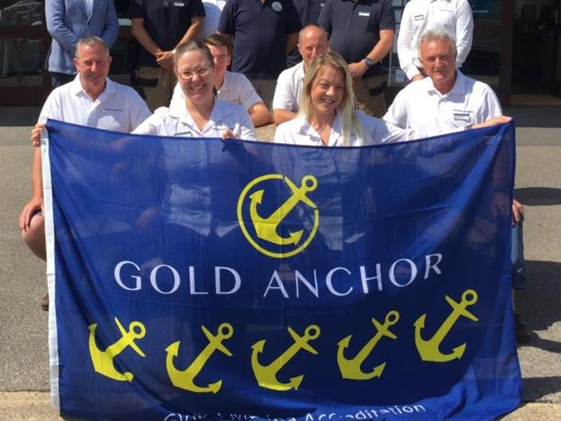 Shepperton Marina Awarded 5 Gold Anchors